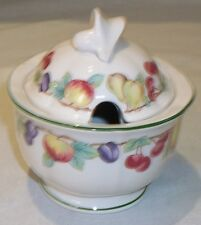 Villeroy & Boch MELINA covered sugar bowl / preserve / honey / jam pot UNUSED