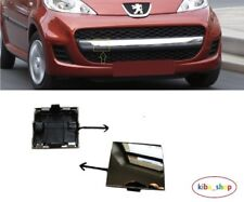 PEUGEOT 107 09-2012 FRONT TOW TOWING EYE HOOK COVER CAP CHROME MOULDING NEW
