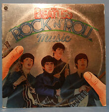 THE BEATLES ROCK 'N' ROLL MUSIC SKBO-11537 VINYL 2X LP 1977 GREAT COND! VG+!!