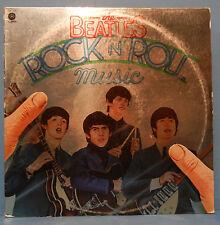 THE BEATLES ROCK 'N' ROLL MUSIC SKBO-11537 VINYL 2X LP 1977 GREAT COND! VG+!!