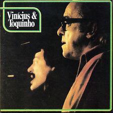 Vinicius de Moraes e Toquinho - Como e duro trabalhar - New Brazilian CD Import