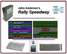 Rally Speedway [ATARI 400 800 XL XE GS] Juego Cartucho Modul Cartridge old stock