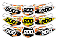 Motocross KTM 125 UP Backgrounds Graphics 2013 - current Custom Decals