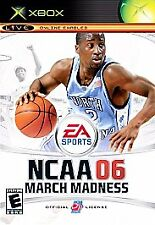 X-BOX VIDEO GAME NCAA 06 MARCH MADNESS 2005 EA SPORTS NEW IN PACKAGE
