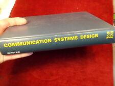 "OLD VTG 1972 BOOK ""COMMUNICATION SYSTEMS DESIGN"" LINE-OF-SIGHT, TROPO-SCATTER"