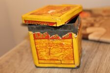 Ancienne Boite de Thé Liptons extra choicest blended Tea 1923