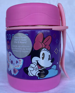 Disney Minnie Mouse Hot and Cold Food Container with Spork New