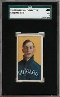 Rare 1909-11 T206 Jake Atz Sovereign 350 Chicago SGC 40 / 3 VG