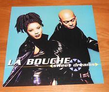 La Bouche Sweet Dreams Poster 2-Sided Flat Square 1996 Promo 12x12 RARE