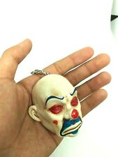 Joker Mini Latex mask Pay Day Key ring The Dark Knight Movie Collectible