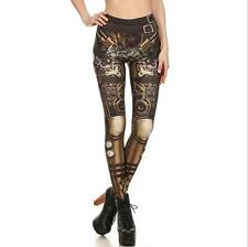 Fashion Sexy Legging Steampunk Star Wars printed legging elastic Slim legging M