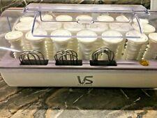 VIDAL SASSOON HAIRSETTER 20 RIBBED HOT ROLLERS VS321 PAGEANT MODEL VS321