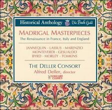 NEW Madrigal Masterpieces (Audio CD)