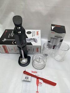 Bamix SwissLine Hand Blender, Black NO BLADES