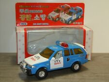 Ssangyong Musso Police - Mica 1:35 in Box *41052