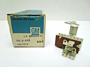 NOS 1966-67 CHEVROLET CHEVELLE MALIBU HEATER CONTROL SWITCH 3895923