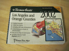 New ListingVintage 2002 Los Angeles and Orange Counties Thomas Guide used