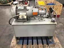 10hp Hydraulic Power Unit Pump 40 Gal Nachi Dss G06 C4 R C115 E12 988taw