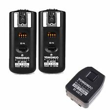Yongnuo RF-602 Wireless Flash Trigger + 2PCS Receivers for Canon 70D 60D 10D UK