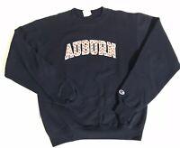 Vintage 90's University Of Auburn Champion Eco Fleece Sweatshirt Size Small