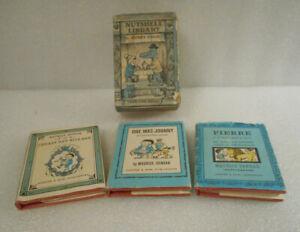 Harper Collin's Nutshell Library Maurice Sendak 3 Volumes with Slip Cover 1962