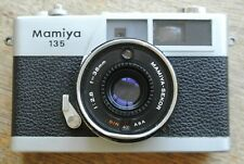 Mamiya 135 EE Rangefinder Camera 38mm 1:2.8 Sekor Lens WORKING