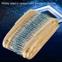 1460Pcs 1/4W Metal Film Resistor Set Assortment Kit 73 Value 1% Tolerance fe