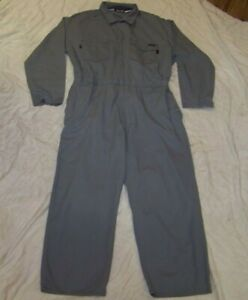 Men's Workrite FR Coveralls - 56R - Gray