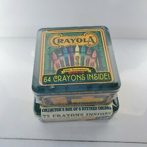 Lot of 2 box Vintage  Crayola  crayons. New.