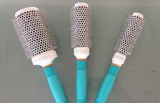 3 Moroccanoil Ionic Cramic Thermal Brush: Round 55, 35 & 25 mm Original & New