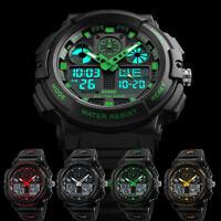 SKMEI-1270 Men's Military Tactical Chronograph Analog Digital Quartz Wrist Watch