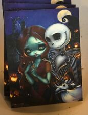 Disney WonderGround Gallery Jack and Sally Magnet Jasmine Becket-Griffith New