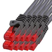 10 x 3m CAT.5 Gigabit Patchkabel Netzwerkkabel schwarz LAN Netzwerk Kabel CAT5