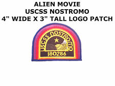 ALIEN Movie USCSS Nostromo Crew Cap IRON ON PATCH