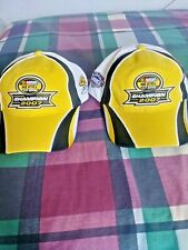 Nascar Jimmy Johnson #48 Nextel Cup Series Champion 2007 Cap Hat (2 Hats-1 Lot)