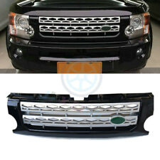 For Land Rover LR3/Discovery 2005-09 Silver New Front Grill Grille Cover Trim k