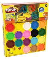 Play-Doh Super Rainbow Colour Kit 18 Tubs Dough Set Children's Creative Toy Gift