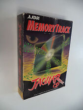 Authentic MEMORY TRACK (Atari Jaguar CD) EMPTY BOX No Game or Manual