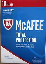 McAfee Total Protection  for 10 PCs  1Yr. MTP17EMBORAA
