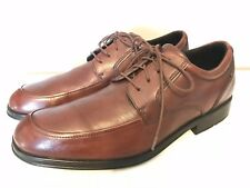 ROCKPORT Dress Shoe Mens 11 M Dynamic Suspension Brown Leather Lace-up Oxford