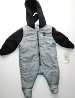 NWT Timberland Snowsuit Baby Boy 1pc Outerwear 3-6M 6-9M New MSRP$80 Free Ship