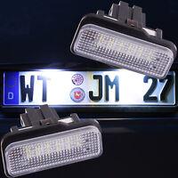 LED Kennzeichenbeleuchtung Mercedes C E Klasse S203 Kombi W211 Limo S211 [7203]