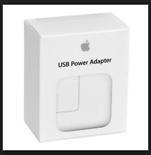 Genuine 12w Apple iPad iPhone AC Wall Charger for All iPads and iPhones