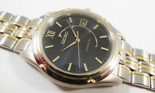 Seiko Kinetic Two-Tone Stainless Steel 5M42-0P58 Sample Watch NON-WORKING