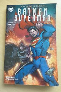 DC Batman Superman Vol 4 Siege Greg Pak Ardian Syaf SC 1st Printing 2016