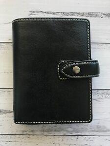 Filofax Malden BLACK pocket size