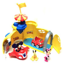 Walt Disney MICKEY MOUSE Clubhouse Playset figures & vehicles toy lot minnie