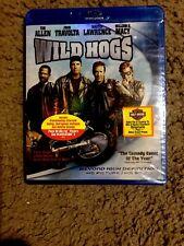 Wild Hogs (Blu-ray Disc, 2007) Tim Allen, Martin Lawrence Brand New!