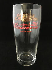 Personalised Budweiser Pint glass - Gift Boxed