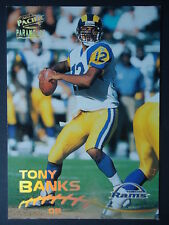 NFL 191 Tony Banks St. Louis Rams Pacific Parmount 1998